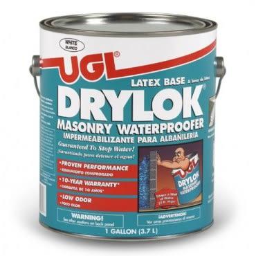 UGL 10年水性乳膠護壁負水壓防水塗料 白1G
