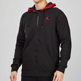 Nike Jordan Hoodie 男子 黑色 喬丹 刷毛 運動 休閒 連帽 外套 BQ5650-010