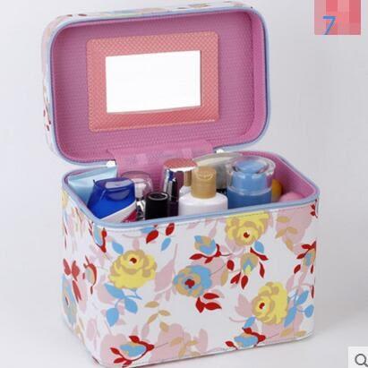 化妝包旅行大容量化妝品收納箱便攜化妝箱韓版出遊收納盒