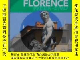 二手書博民逛書店法語原版罕見Guide Vert Week-end Floren