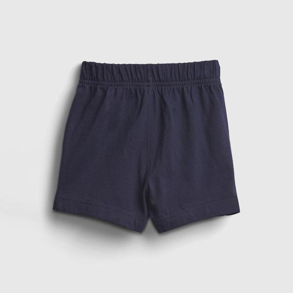 Gap嬰兒 布萊納系列 柔軟運動休閒褲 729139-海軍藍