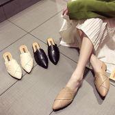 包頭半拖鞋女仙女風2019夏季韓版新款涼拖鞋女外穿時尚懶人女鞋子