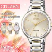 【公司貨5年延長保固】CITIZEN Eco-Drive 簡約時尚光動能錶 32mm/星辰/EM0554-82X