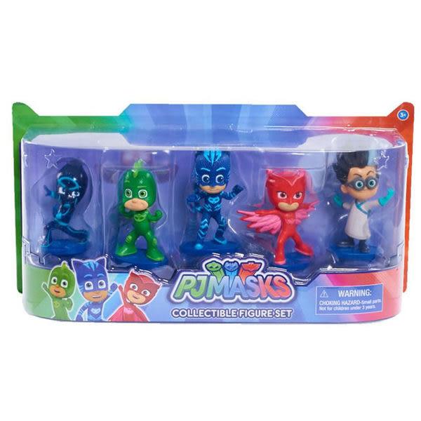 【 PJ Masks 睡衣小英雄 】3 吋人偶五合一組╭★ JOYBUS玩具百貨