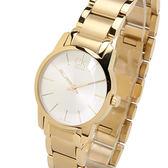 Calvin Klein 極簡經典LOGO腕錶(金色)K2G23546
