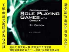 二手書博民逛書店Programming罕見Role Playing Games With Directx (game Develo