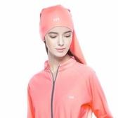 【海夫】HOII SunSoul后益 防曬UPF50紅光 魔術頭巾(紅)