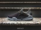 IMPACT Nike Sock Dart Tech Fleece 黑灰 毛巾布 套襪鞋 休閒 運動 百搭 834669 001