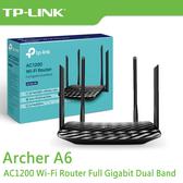 【免運費】TP-LINK Archer A6 AC1200 MU-MIMO 雙頻 Gigabit 無線路由器