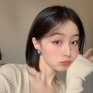 耳飾 耳環韓國氣質時尚網紅簡約拼接撞色耳夾無耳洞耳釘女R532
