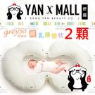 『超值2件組』GreySa 格蕾莎 哺乳護嬰枕 台灣製造【妍選】