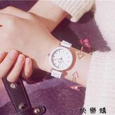 陶瓷手錶女白色女款韓版防水