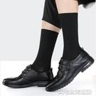 男商務襪高筒襪子男士長筒商務皮鞋西裝黑色長襪夏季薄款夏天中筒純棉防臭 【快速出貨】