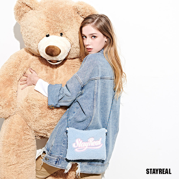 STAYREAL 泰迪熊熊小側背包
