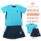 台灣製吸濕排汗運動服套裝 [1724] RQ POLO 中大童 春夏 童裝 現貨 120-170碼