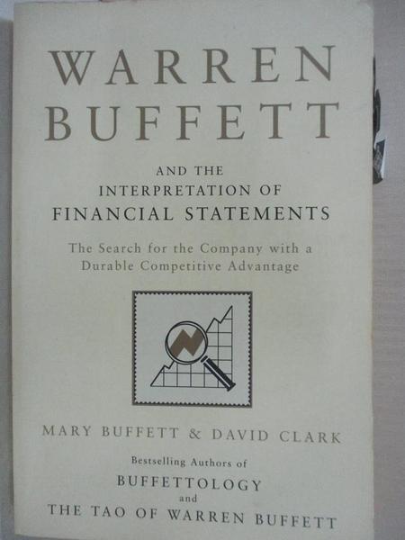 【書寶二手書T1/行銷_IT4】Warren Buffett and the Interpretation of Financial Statements