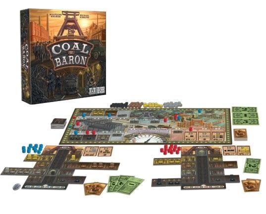 [楷樂國際] 煤礦大亨 Coal Baron #R&R Games 桌遊