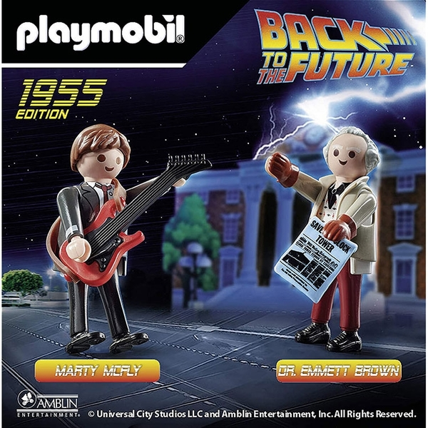 playmobil 回到未來 馬帝與布朗博士_ PM70459