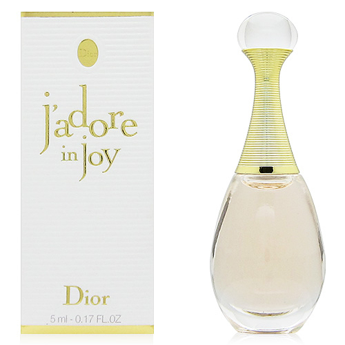 Dior迪奧 Jadore in joy愉悅淡香水5ml (公司貨)【QEM-girl】