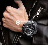 手錶 學生潮防水登山運動多功能戶外電子錶
