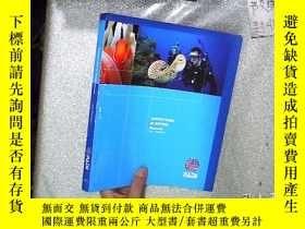 二手書博民逛書店ADVENTURES罕見IN DIVING MANUAL 中文版