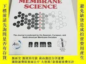 二手書博民逛書店【外文雜誌】罕見Journal of Membrane Science 2016 2. VOL.499 膜科學雜誌
