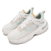 adidas 休閒鞋 Boujirun 白 灰 復古慢跑鞋 女鞋 厚底 NEO 老爹鞋 愛迪達 【ACS】 GY5053