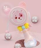 撥浪鼓嬰兒玩具3-5-6-12六個月手搖鈴可啃咬帶音樂寶寶0-1歲益智 瑪奇哈朵