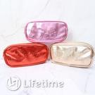 ﹝三麗鷗壓紋橢圓筆袋﹞正版 鉛筆袋 收納袋 袋子 文具 凱蒂貓 美樂蒂〖LifeTime一生流行館〗