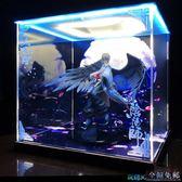手辦展示盒 【魔盒】陰陽師 大天狗 式神 手辦專用亞克力防塵罩展示盒(不含手辦) 玩趣3C