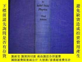 二手書博民逛書店Introduction罕見to Solid State Phy