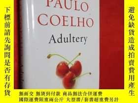 二手書博民逛書店Adultery罕見A novel (硬精裝) 【詳見圖】,毛邊