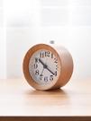 布谷鳥叫 木頭鬧鐘 創意靜音床頭小鬧鐘臥室時尚個性時鐘小座鐘