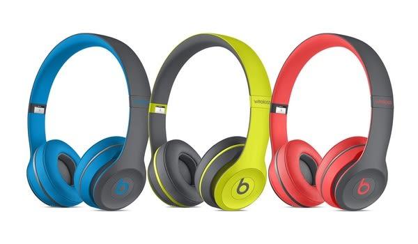 【台中平價鋪】潮牌首選 Beats Solo 2 Wireless Active  藍芽耳機-紅灰色 時尚潮流感 先創公司貨