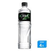 味丹竹炭礦泉水700ml*4瓶【愛買】