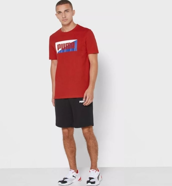 PUMA 男款紅色SUMMER短袖T恤-NO.58416511