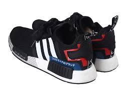 KUMO SHOES-Adidas NMD_R1 CBLACK 慢跑鞋_男女_黑白色_EF2357