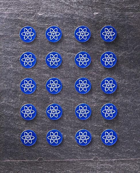 【台北視聽劇院組合音響】Telos Rare Earth Element (REE) 圓形5mm 調音貼紙 (一盒20張)
