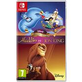 【預購NS】迪士尼經典遊戲:阿拉丁和獅子王《英文版》