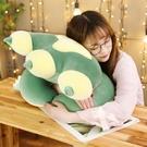 午睡抱枕 貓爪抱枕午睡枕頭兒童趴趴枕辦公室學生趴著睡夏季大靠背午休神器 歐歐