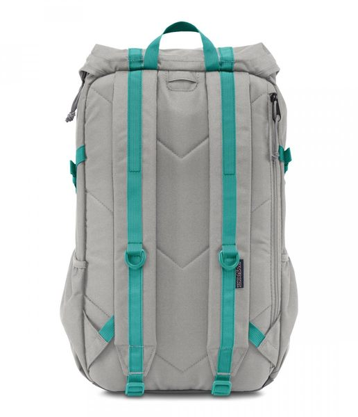 JANSPORT 校園後背包 可放筆電15吋-淺灰-42020