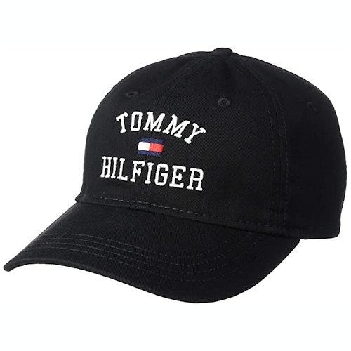Tommy Hilfiger 湯米棒球帽(黑色)