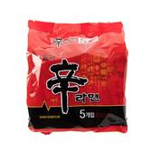 韓國原裝版農心辛拉麵5入