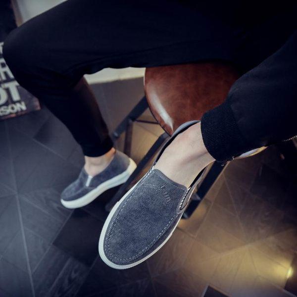 鞋子男鞋新款男休閒鞋男百搭男生帆布鞋男板鞋男韓版潮鞋   遇見生活