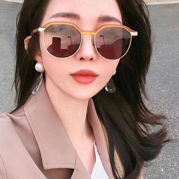 LASH 墨鏡 DAZE KB20 (透黃-霧金) 眉框 韓國 太陽眼鏡 久必大眼鏡