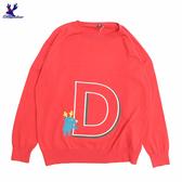 【三折特賣】American Bluedeer - 字母D針織上衣(魅力價)  秋冬新款