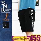 短褲-網布運動棉短褲-街潮穿搭舒適款《99987009》黑色【現貨+預購】『SMR』