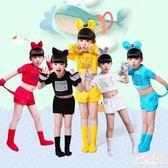 兒童小動物演出服小兔子老鼠小貓咪小狗幼兒園表演服裝衣服女