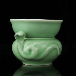 龍泉青瓷茶漏