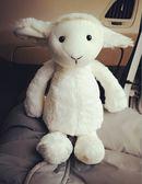 玩偶娃娃-羊  卡通可愛企鵝小羊豬毛絨玩偶公仔超柔軟陪睡娃娃生日禮物 宜室家居